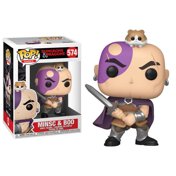Funko POP! GAMES DND - MINSC AND BOO