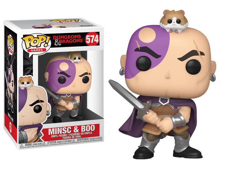 Funko POP! GAMES DND - MINSC AND BOO