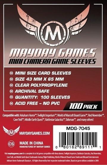Mayday STANDARD MINI CHIMERA 43mm x 65mm 100CT
