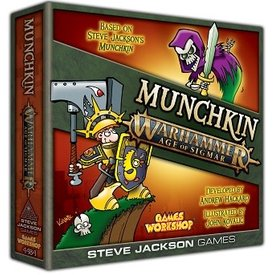 Steve Jackson Games MUNCHKIN WARHAMMER AGE OF SIGMAR (English)