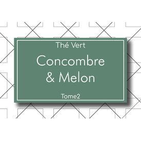 Les Thés Fuji Thé Vert Concombre & Melon 85g