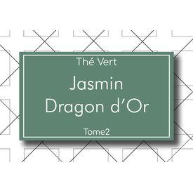 Les Thés Fuji Thé Vert Jasmin Dragon d'Or 100g