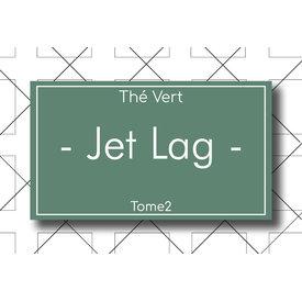 Les Thés Fuji Thé Vert Jet Lag (Fraise) 100g