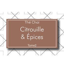 Les Thés Fuji Thé Chai Citrouille & Épices 90g
