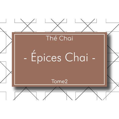 Thé Chai Épices Chai 90g (Sans Thé)