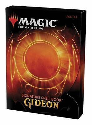 Wizards of the Coast MTG Signature Spellbook: Gideon