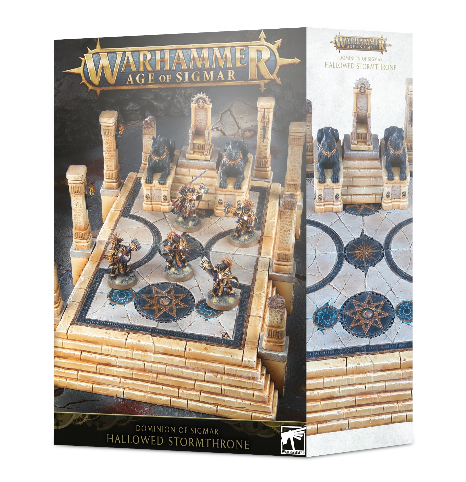 Age of Sigmar Dominion of Sigmar - Hallowed Stormthrone