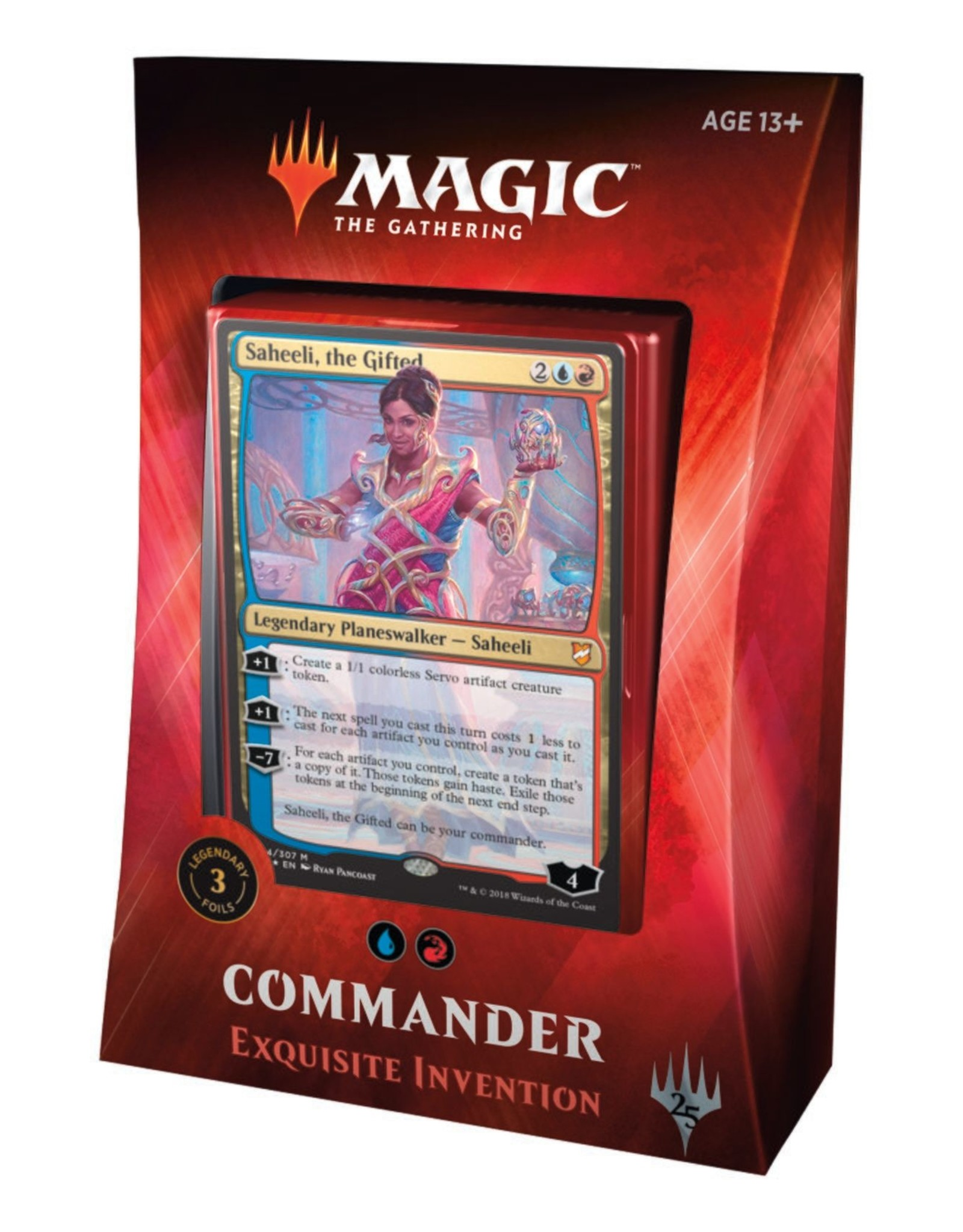 Wizards of the Coast Commander 2018: Exquisite Invention