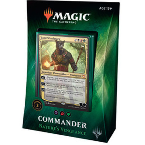Wizards of the Coast Commander 2018: Nature's Vengeance