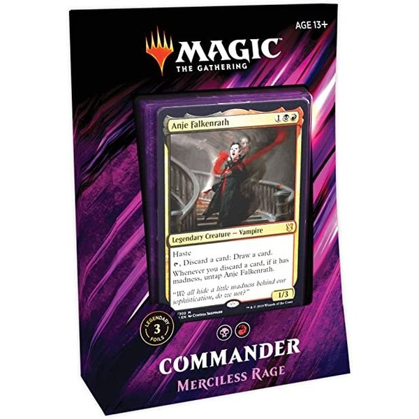 Wizards of the Coast Commander 2019: Merciless Rage