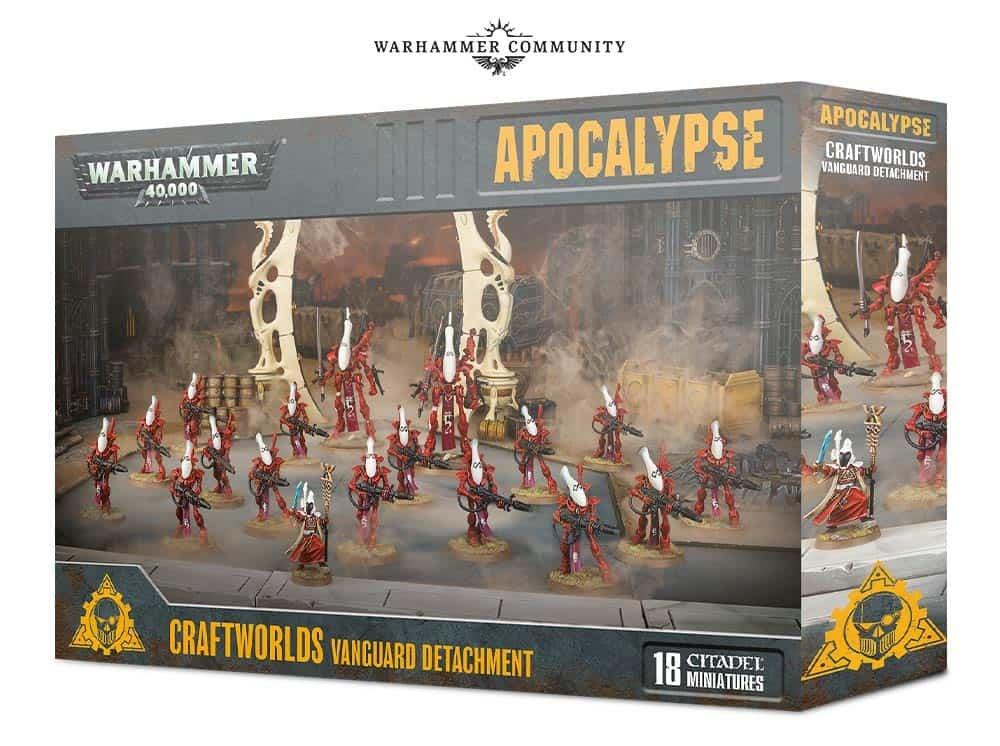 Warhammer 40k Apocalypse - Crafworld Vanguard Detachement