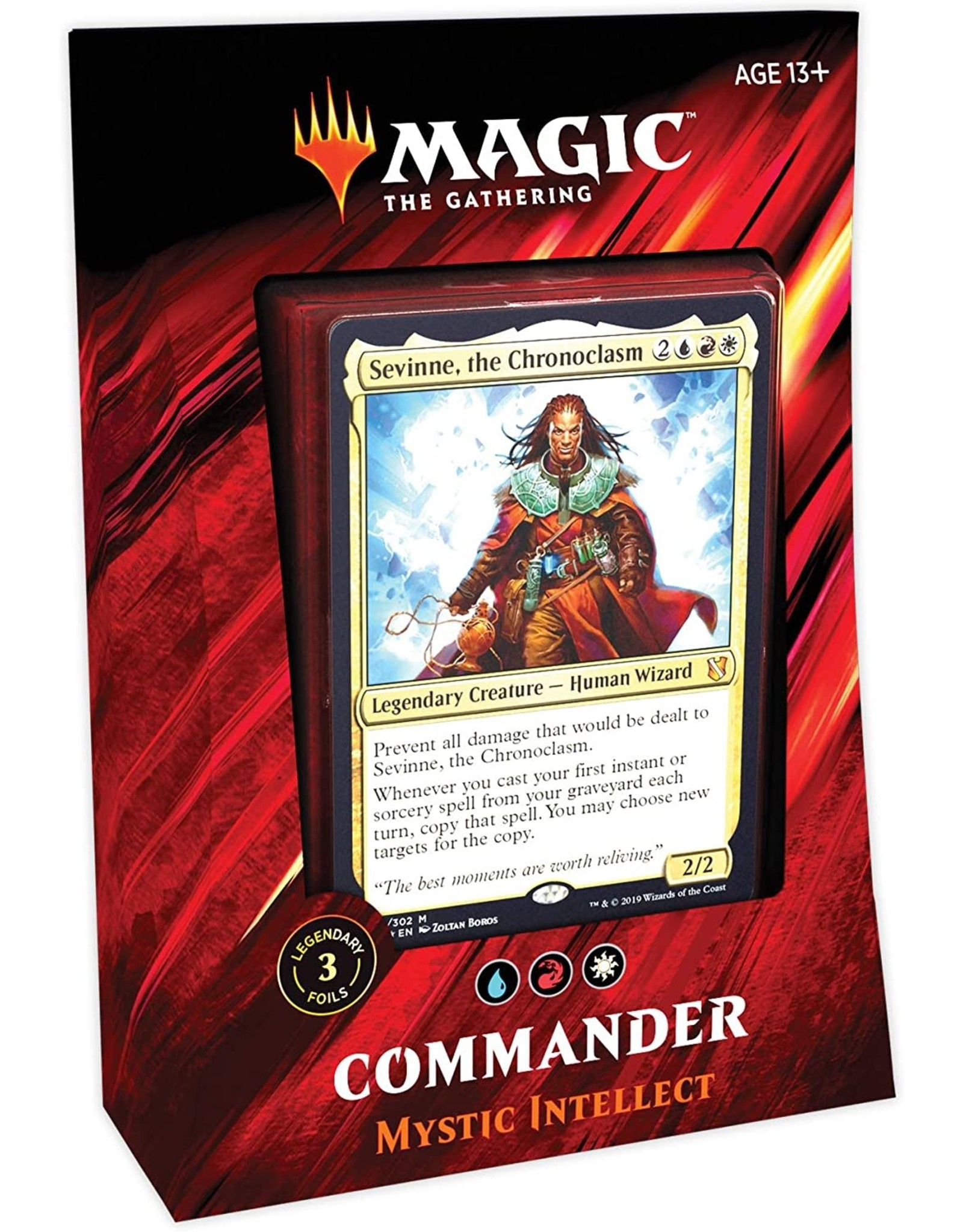 Wizards of the Coast Commander 2019: Mystic Intellect
