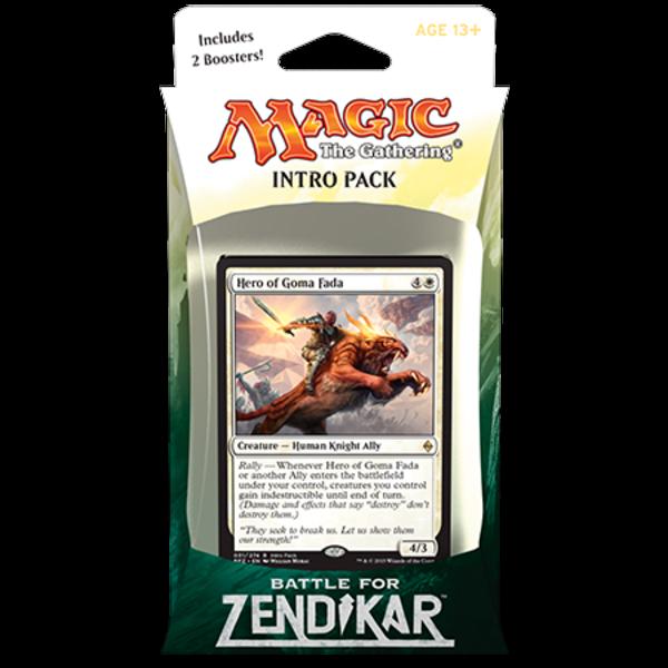 Wizards of the Coast FR - MTG BATTLE FOR ZENDIKAR INTRO PACK - CRI DE RALLIEMENT