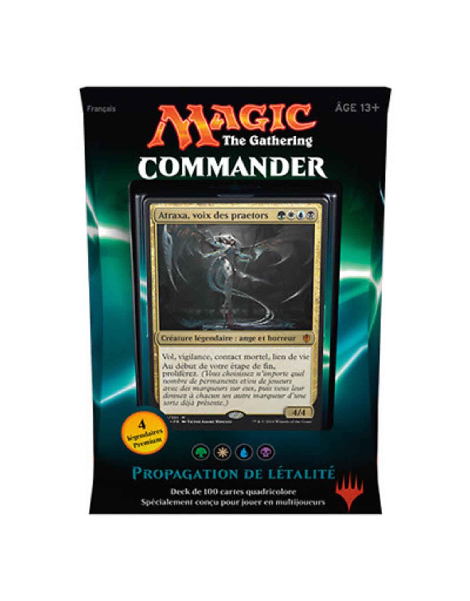 Wizards of the Coast Fr- Commander 2016: Propagation de Létalité