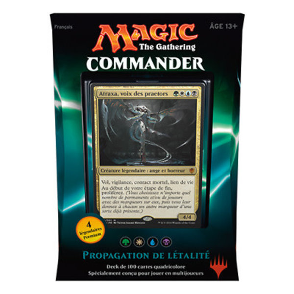 Wizards of the Coast Fr- Commander 2016: Propagation de Létalité
