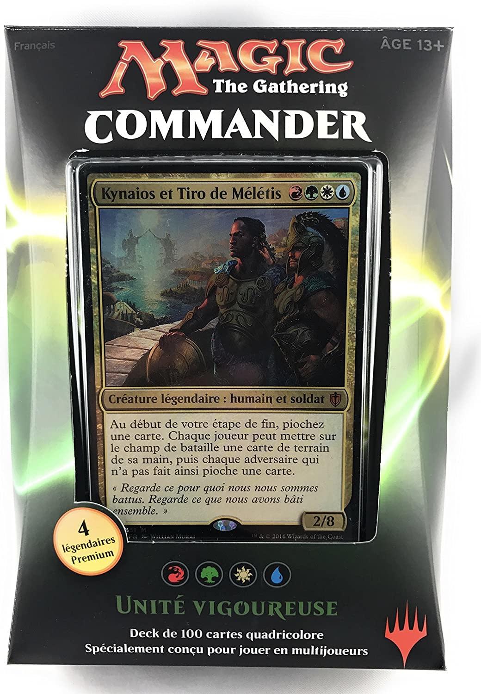 Wizards of the Coast Fr- Commander 2016: Unité Vigoureuse