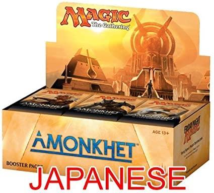 Wizards of the Coast JAPANESE - MTG AMONKHET BOOSTER BOX