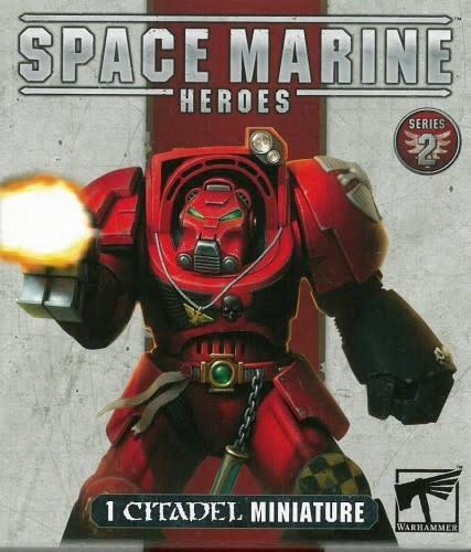Warhammer 40k Space Marine Heroes - Series 2 Booster (1)