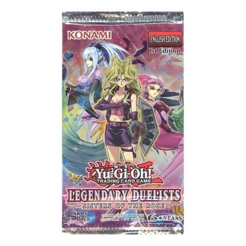 LEGENDARY DUELISTS - SISTERS OF THE ROSE BOOSTER PACK