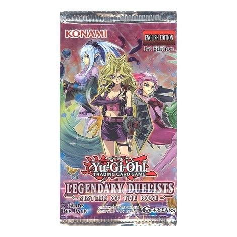 Konami LEGENDARY DUELISTS - SISTERS OF THE ROSE BOOSTER PACK