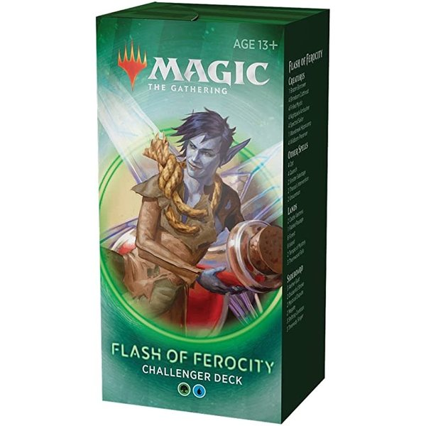 Wizards of the Coast MTG CHALLENGER DECK: FLASH OF FEROCITY