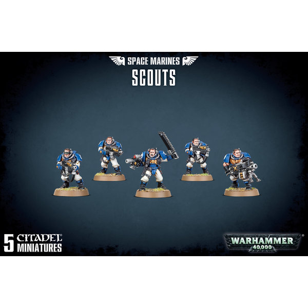 Warhammer 40k SPACE MARINES SCOUTS