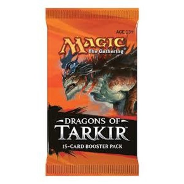 Wizards of the Coast MTG DRAGONS OF TARKIR BOOSTER PACK