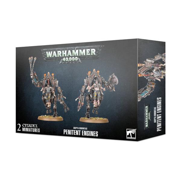 Warhammer 40k Adepta Sororitas Penitent Engines