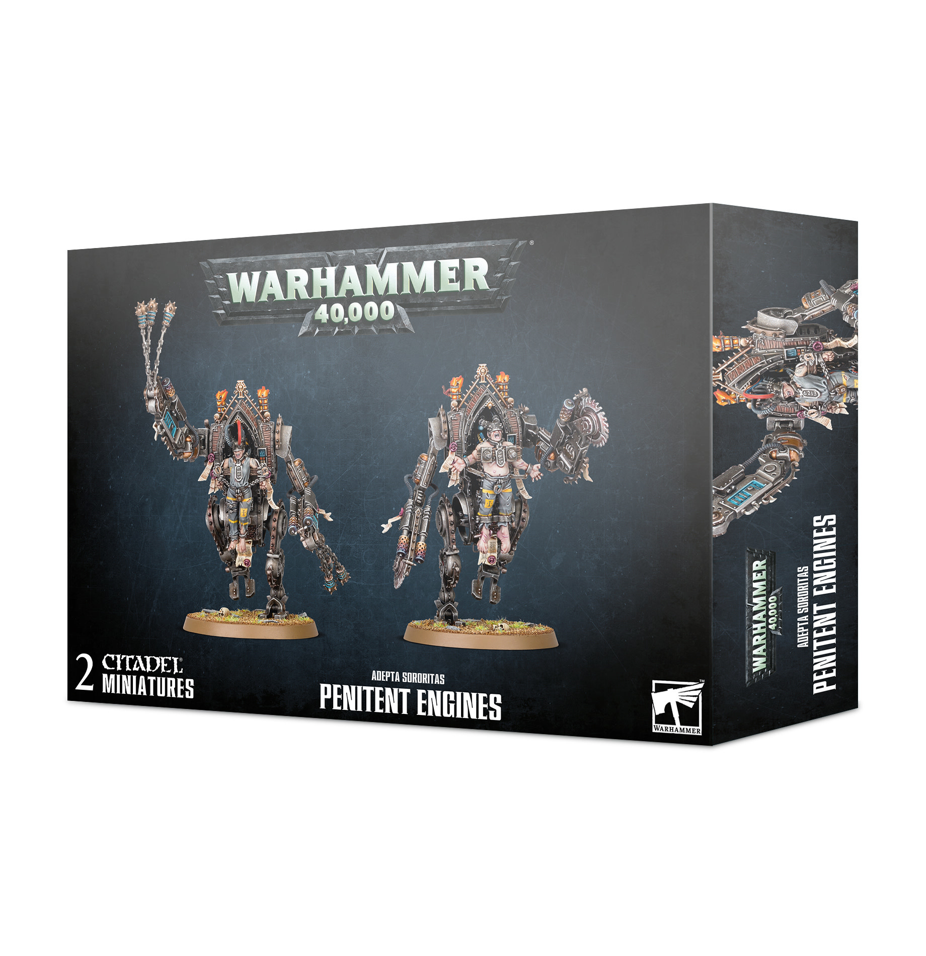 Warhammer 40k Adeptas Sororitas Penitent Engines