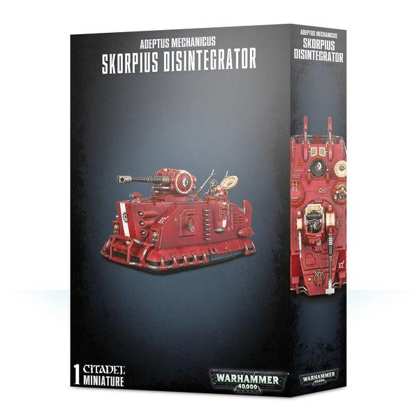 Warhammer 40k Adeptus Mechanicus Skorpius Desintegrator