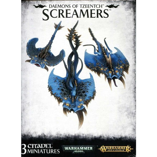 Age of Sigmar Daemons of Tzeentch Screamers