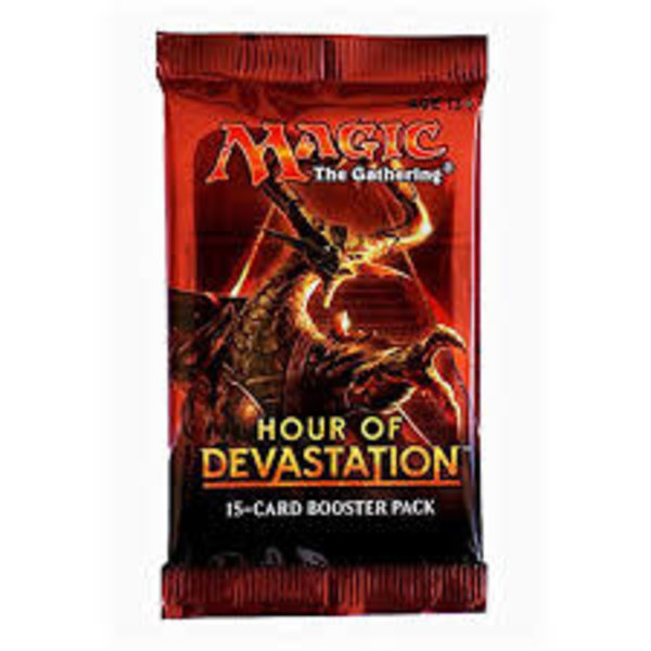 Wizards of the Coast MTG HOUR OF DEVASTATION BOOSTER PACK
