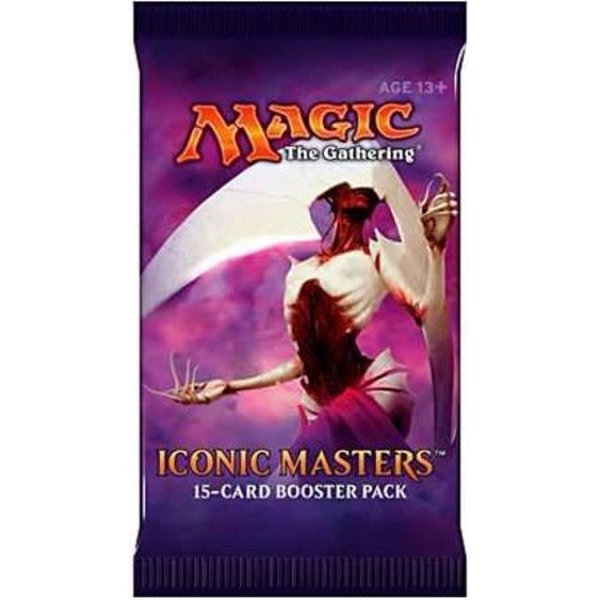 Wizards of the Coast MTG ICONIC MASTERS BOOSTER PACK