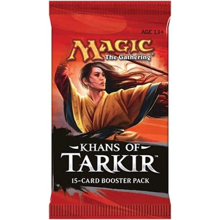 Wizards of the Coast MTG KHANS OF TARKIR BOOSTER PACK