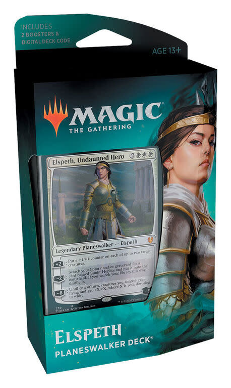 Wizards of the Coast MTG THEROS BEYOND DEATH PLANESWALKER DECK - ELSPETH