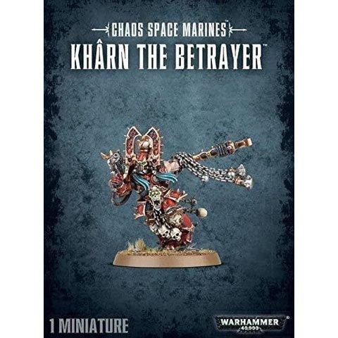CHAOS SPACE MARINES KHARN THE BETRAYER