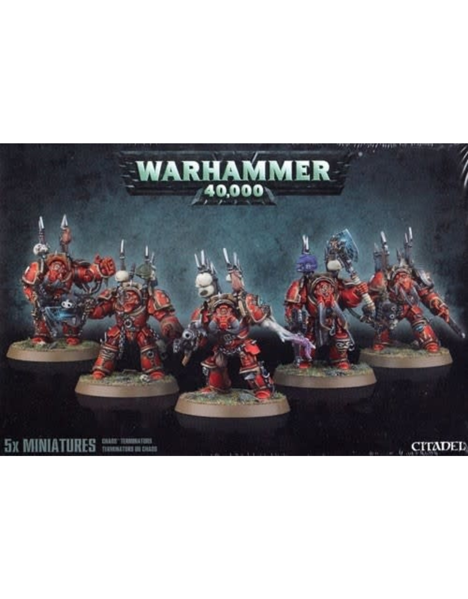 Warhammer 40k CHAOS SPACE MARINE TERMINATORS (Old)