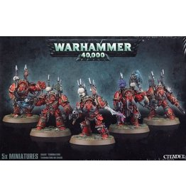 Warhammer 40k CHAOS SPACE MARINE TERMINATORS (Old)