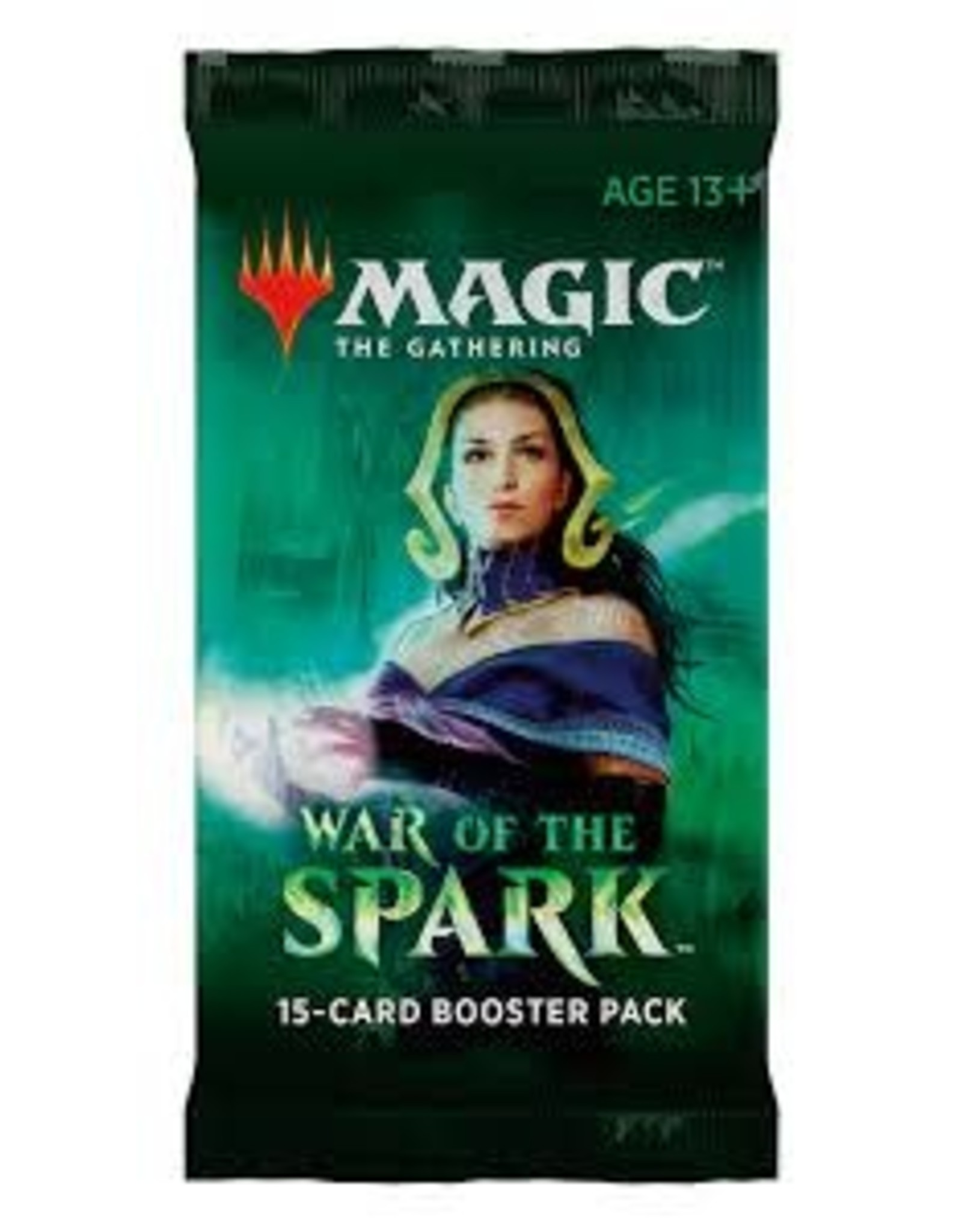 Wizards of the Coast MTG WAR OF THE SPARK BOOSTER PACK