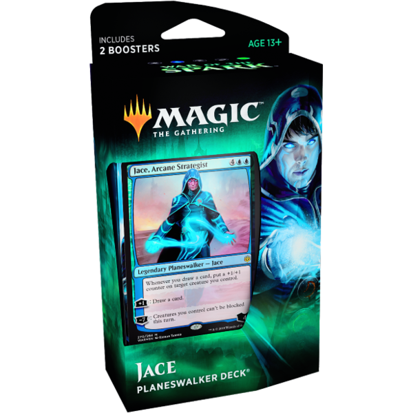 Wizards of the Coast MTG WAR OF THE SPARK PLANESWALKER DECK - JACE