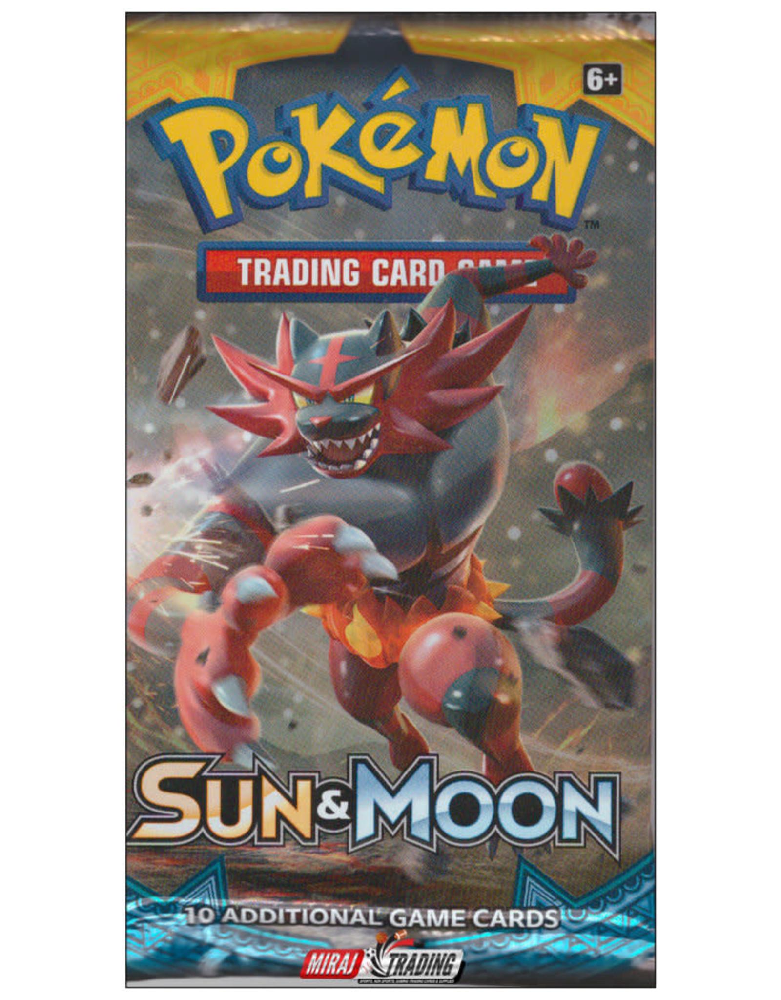 POKEMON POKEMON SUN & MOON BOOSTER PACK