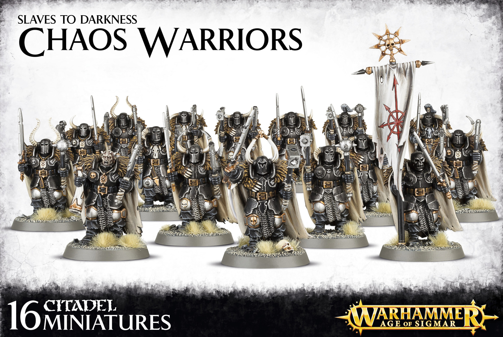 Age of Sigmar SLAVES TO DARKNESS CHAOS WARRIORS