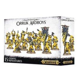Age of Sigmar Ironjaw Orruk Ardboys