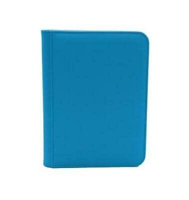 DEX DEX ZIP BINDER 4PKT BLUE