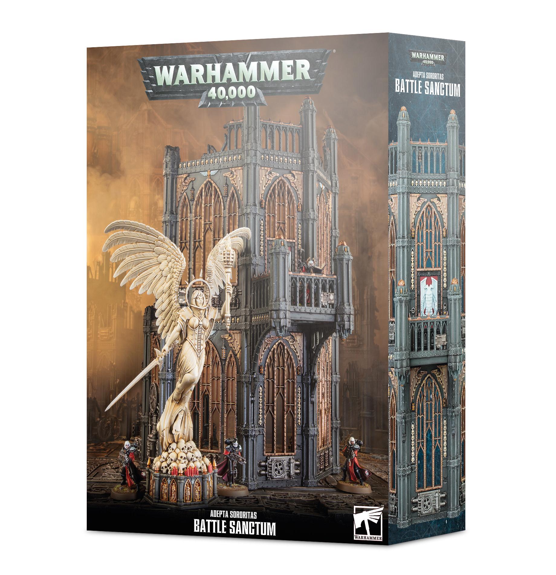 Warhammer 40k Adepta Sororitas Battle Sanctum