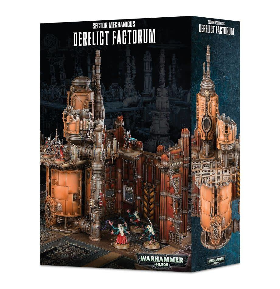 Warhammer 40k Sector Mechanicus Derelict Factorum
