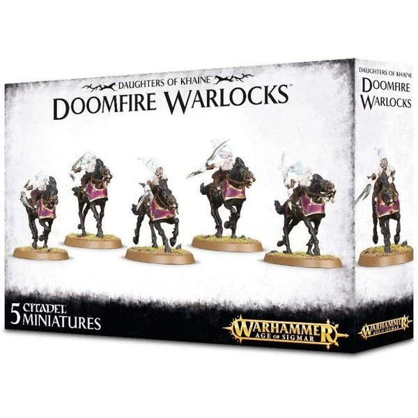 Age of Sigmar Daughters of Khaine Doomfire Warlocks
