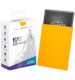Ultimate Guard UG SLEEVES KATANA YELLOW 100CT