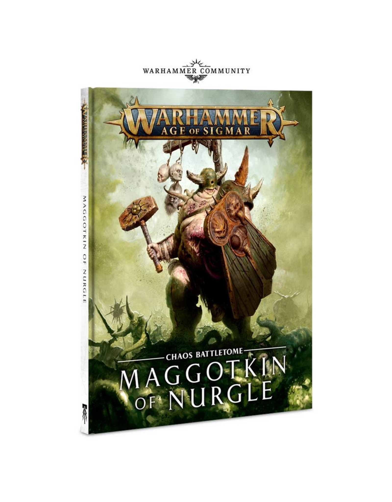 Age of Sigmar Battletome Maggotkin of Nurgle (HB) (EN)