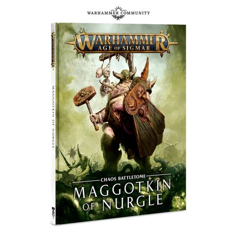 Battletome Maggotkin of Nurgle (HB) (EN)